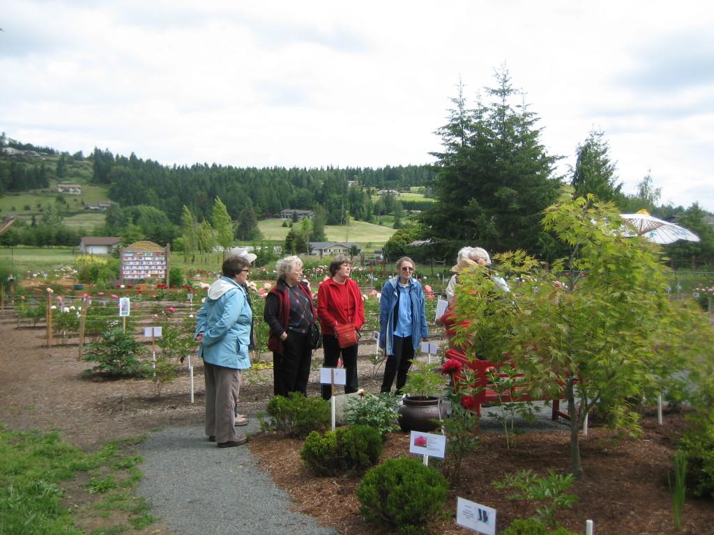 Garden Club visit